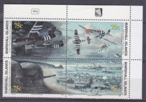 1994 Marshall Islands 517-520VB I Airplanes 8,50 €