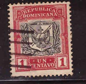 Dominican Republic Scott 125 used