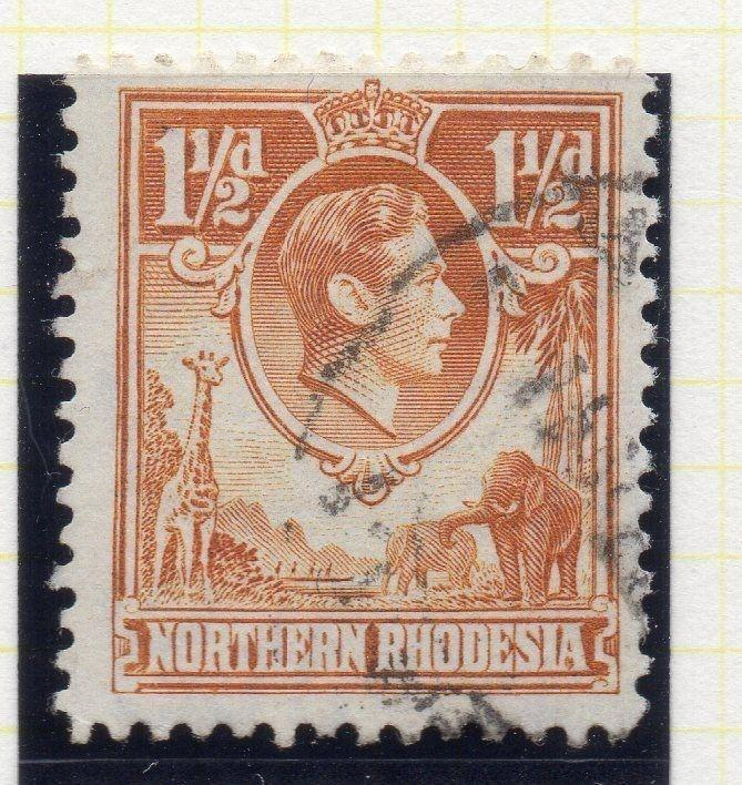 Northern Rhodesia 1950 Early GVI Issue Fine Used 1.5d. 107760