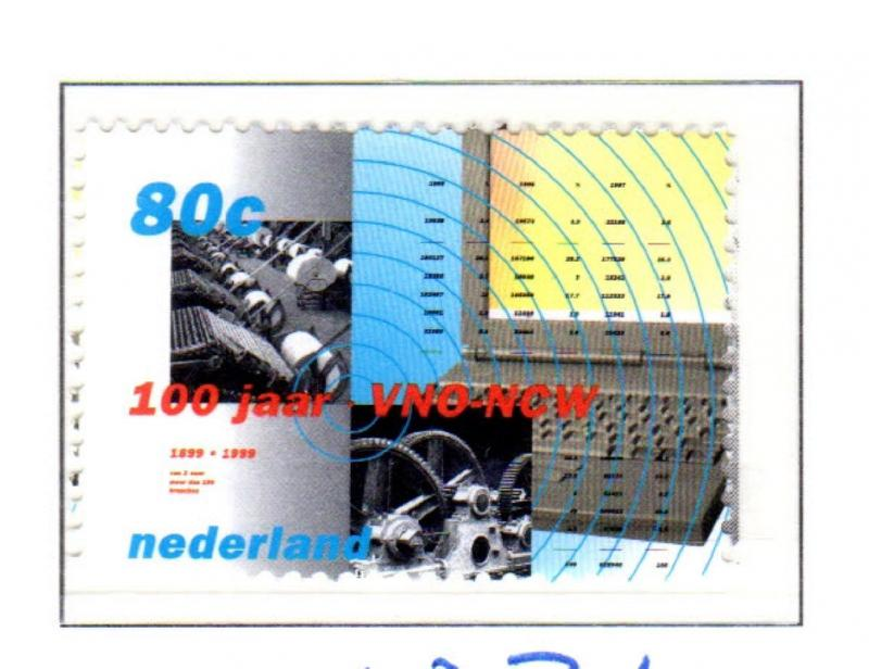 NETHERLANDS #1036  UNO-NCW EMPLOYEES   MINT  VF NH