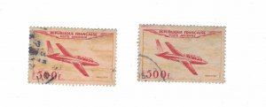 982 - France (500 Fr) 1954 - Postage stamps Airmail [Stamp] Mint conditions