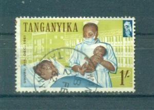 Tanganyika sc# 51 used cat value $.35