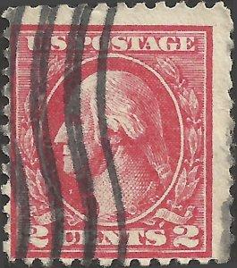 # 527 Used Carmine George Washington