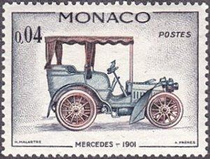 Monaco # 488 hinged ~ 4¢ Automobile