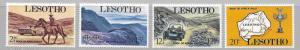 Lesotho 71-4 1969 Auto Rally set NH