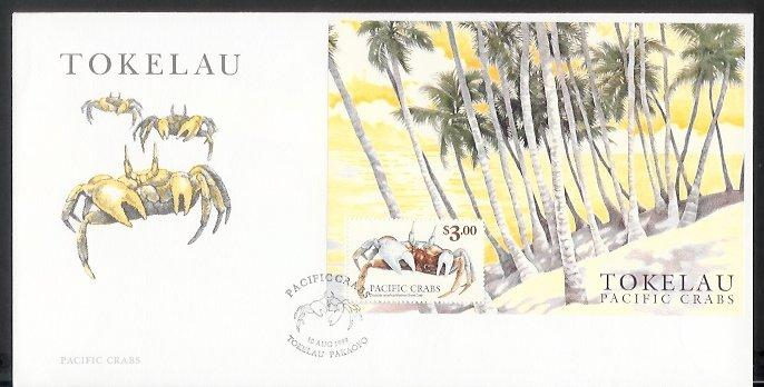 Tokelau - 1999 Pacific Crabs (FDC)