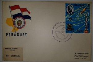 O) 1979 PARAGUAY, SPACE - ORBIT - SATELLITES - EVENTS. DR KURT DEBUS, SPACE