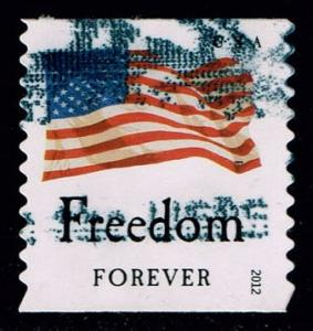 US #4639 Flag and Freedom; used (0.25)