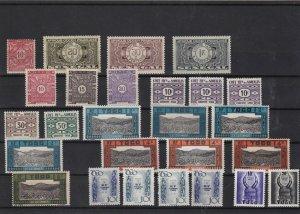 senegal somalis togo  mounted mint stamps ref 10996