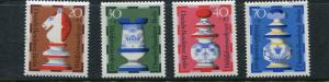 Germany Berlin 1972 Mi 435-8 Sc 9NB2-5 Chess Type MNH g2178hs