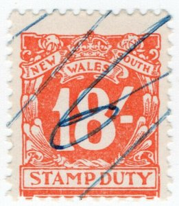 (I.B) Australia - NSW Revenue : Stamp Duty 18/-