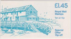 Great Britain - 1983 £1.45 Booklet Britain's Countryside