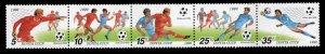 Russia Scott 5899a MNH** World Cup Soccer strip