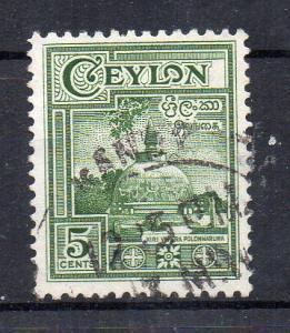 SRI-LANKA - CEYLON - COMMON STAMP - MONUMENT - STUPA - 1950 - Used -