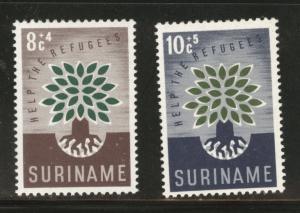 Suriname Scott B73-B74 MNH** 1960 WRY semi-postal set