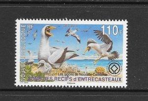 BIRDS - NEW CALEDONIA #1150   MNH