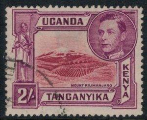 Kenya, Uganda & Tanganyika #81b  CV $17.50