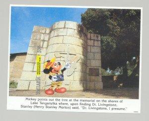 Tanzania #1127 Disney 1v S/S Imperf Proof from set