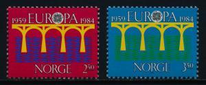 Norway 841-2 MNH EUROPA
