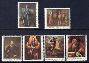 Panama 479-479E Paintings MNH VF