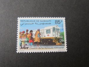 Djibouti 1991 Sc 685 Train MNH