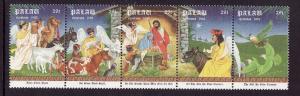 Palau-Sc#312-Unused NH set-Christmas-Angels-1992-