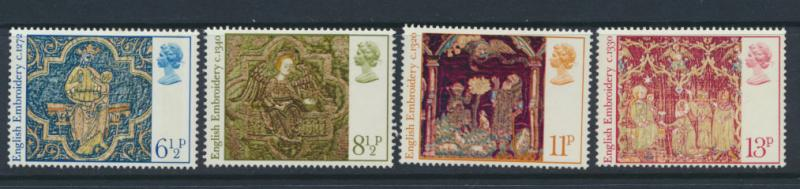 GB QE II Mint never Hinged   SG 1018 - 1021 Set