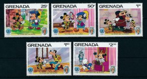 [22511] Grenada 1985 Disney Mark Twain, scene The Prince and the Pauper MNH
