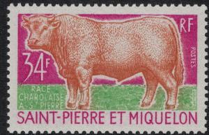 St. Pierre SC 406 Set NH CV $26