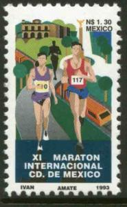 MEXICO 1825, Mexico City Marathon 1993. MINT, NH. VF
