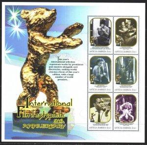 Antigua and Barbuda. 2000. Small sheet 3199-3204. 50 years of the Berlin Film...