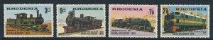 RHODESIA Queen Elizabeth II 1969 Beira Railway Set SG 431 to SG 434 MINT