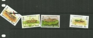 SWAZILAND   INSECTS SCOTT 804-7 MNH