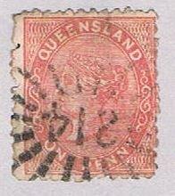 Queensland 57 Used Queen Victoria 1879 (BP51719)
