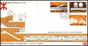 Hong Kong 358-360 U/A FDC