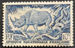 French Equatorial Africa Scott #166 – MNH