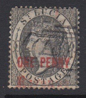 St. Lucia SG F24, used