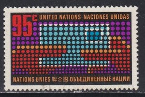 United Nations - New York # 226, Letter Changing Hands, Used, 1/3 Cat.