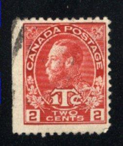 Canada #MR3    u    1916 PD