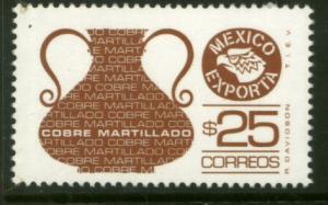 MEXICO Exporta, 1129 $25P Copper Fosfo Paper 7. MINT, NH. VF.
