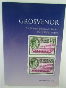GROSVENOR Auction Catalog The Richard Tompkins Collection: British Empire