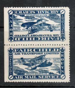Canada #CL11a Extra Fine Never Hinged Tete Beche Pair