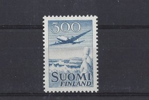 Finland, C4, Douglas DC-6 Airmail Single, MNH