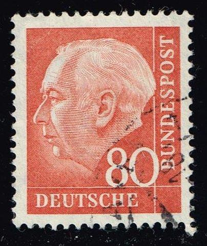 Germany #760 Theodor Heuss; Used (1.90)