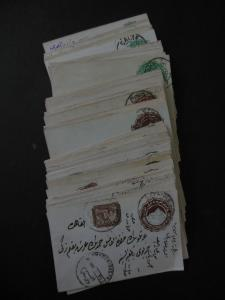 EGYPT : Collection of 54 Used Envelopes of which 8 been Uprated. Interesting