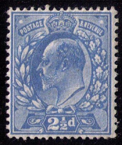 GB UK Scott #131 Unused,MLH KEVII F-VF