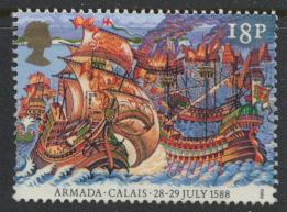 Great Britain SG 1403  Used   - Spanish Armada