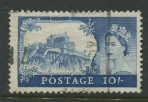STAMP STATION PERTH Great Britain #373 QEII Castle Definitive Used CV$2.00.