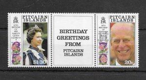 Pitcairn Islands #349a MNH - Stamp Set