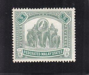 Malaya: Sc #34, MH (35750)
